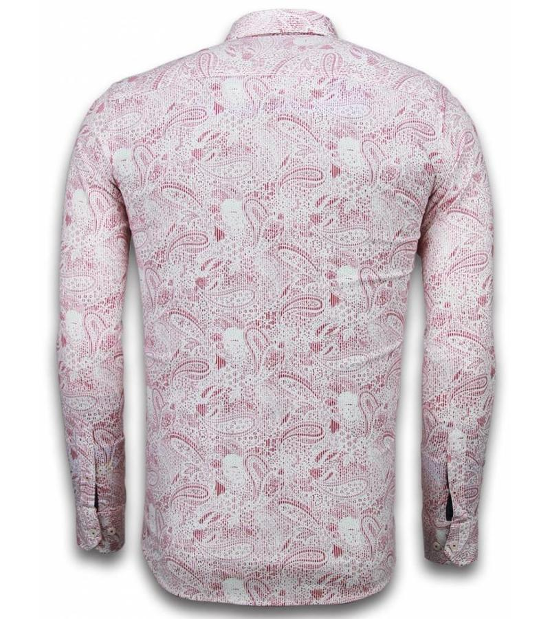 Gentile Bellini Trendiga kläder män - Casual skjortor herr - 2030 - Röd