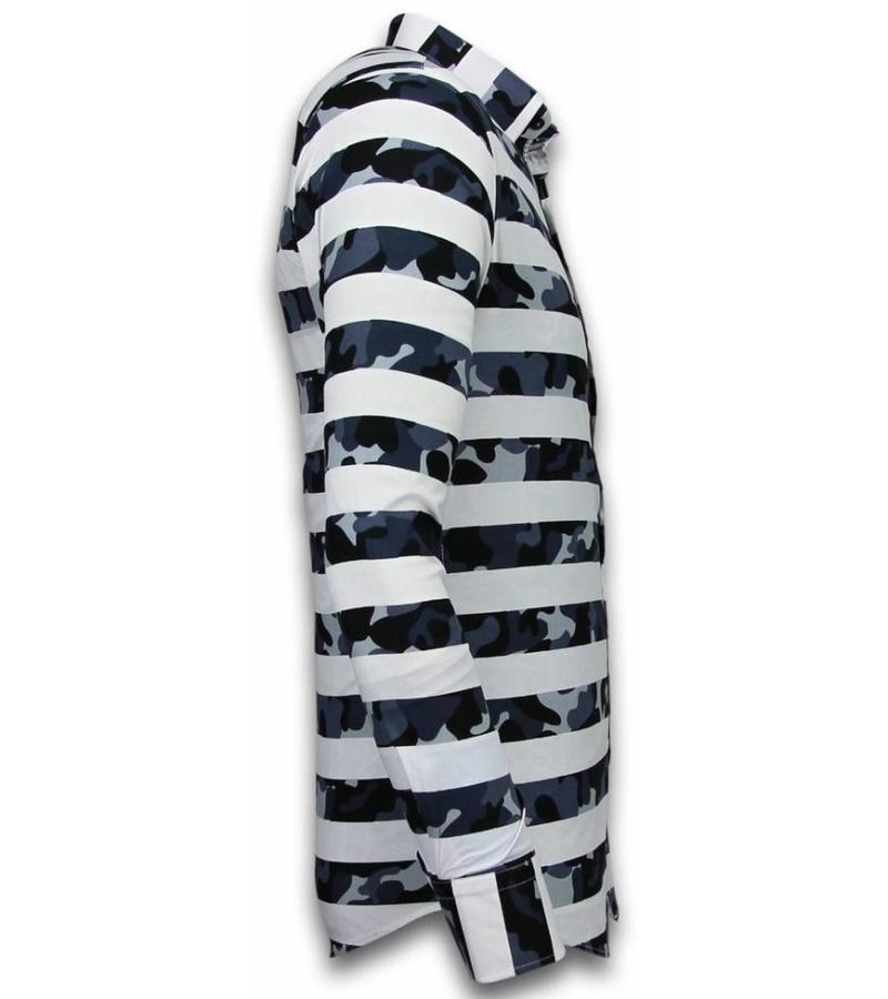 Gentile Bellini Online kläder män - Snygga billiga skjortor herr - 2035 - Vit