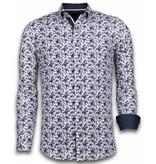 Gentile Bellini Moderna skjortor - Snygga tröjor män - 2029 - Vit