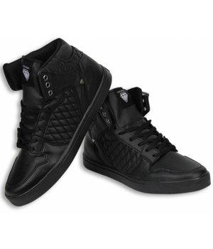 Cash Money Heren Schoenen - Heren Sneaker High - Zwart