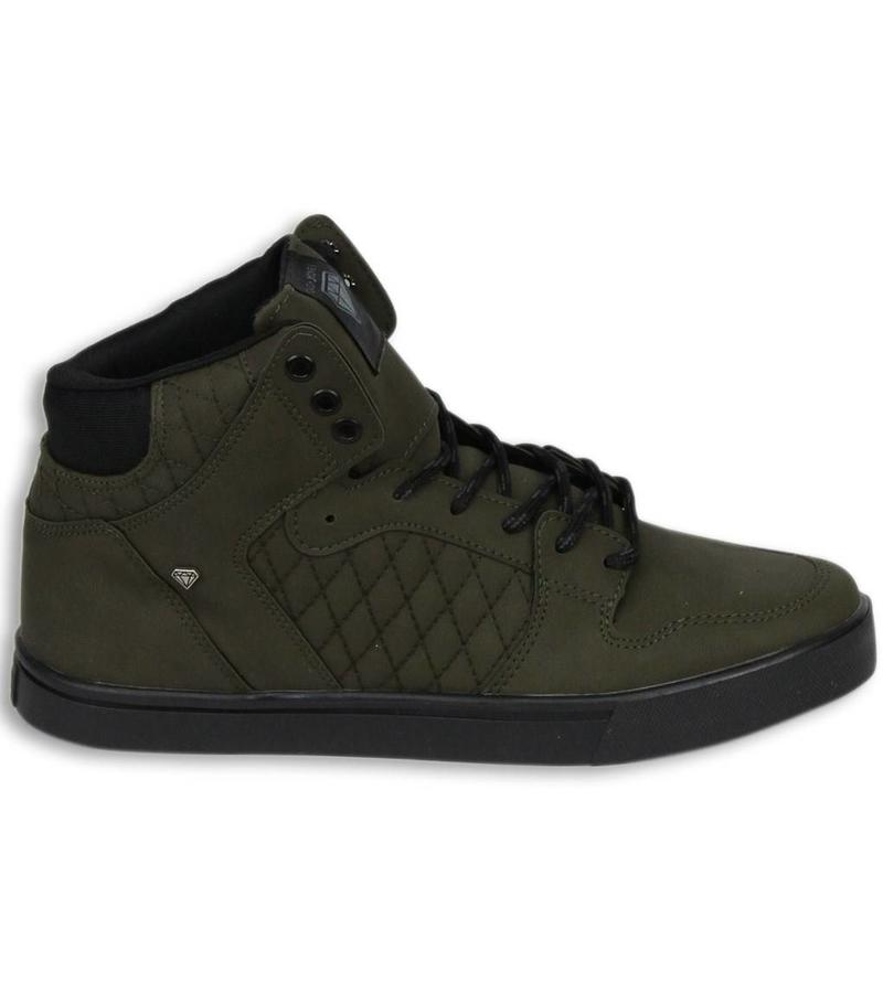 Cash Money Heren Schoenen - Heren Sneaker High - Khaki