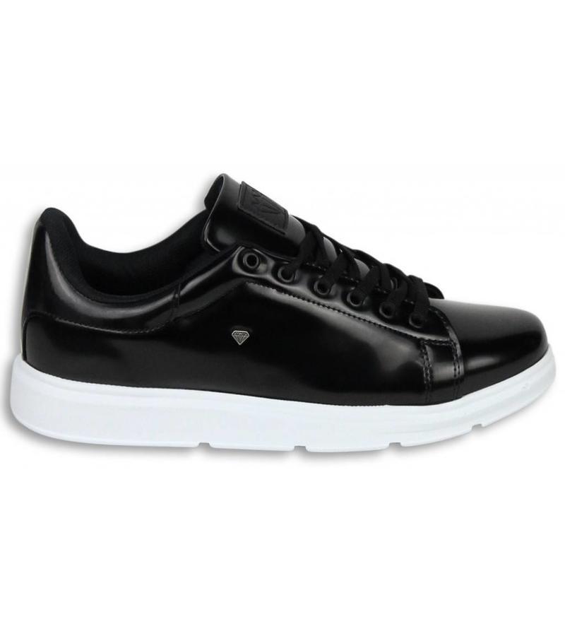 Cash Money Snygga Herr Sneakers - Skor Herr Sneakers Skool Low - Svart