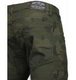Urban Rags Army pants herr - Snygga byxor till killar - U130-9 - Kamouflage