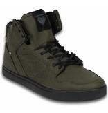 Cash Money Heren Schoenen - Heren Sneaker High - Touch Khaki