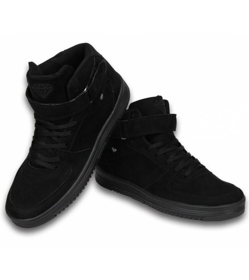 Cash Money Köpa Skor Internet - Herr Sneakers High Dolce  - Svart