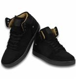 Cash Money Köpa Skor Internet - Skor Snygga Sneakers High - Svart