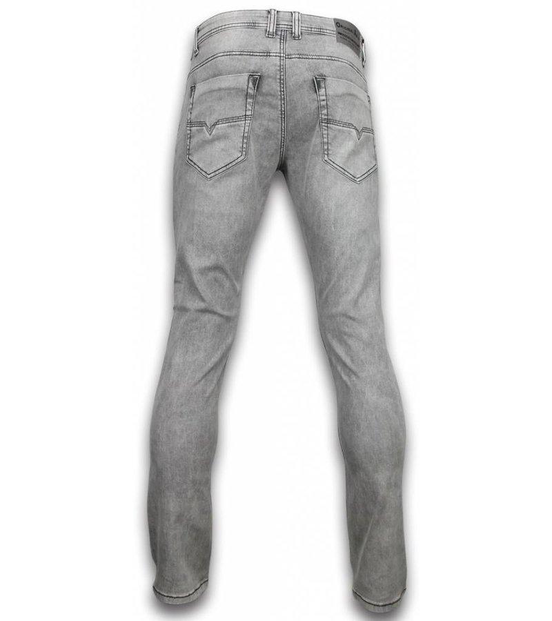 Orginal Ado Herr kläder jeans - Snygga jeans man 2020 - A-1745 - Grå