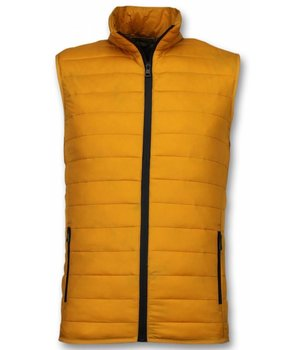 Y chromosome Casual Body Warmer - Herr Kroppsvärmer - S-8152GE - Gul