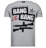 Local Fanatic Loyalty Marilyn Rhinestone - T Shirt Herr - 13-6222G - Grå