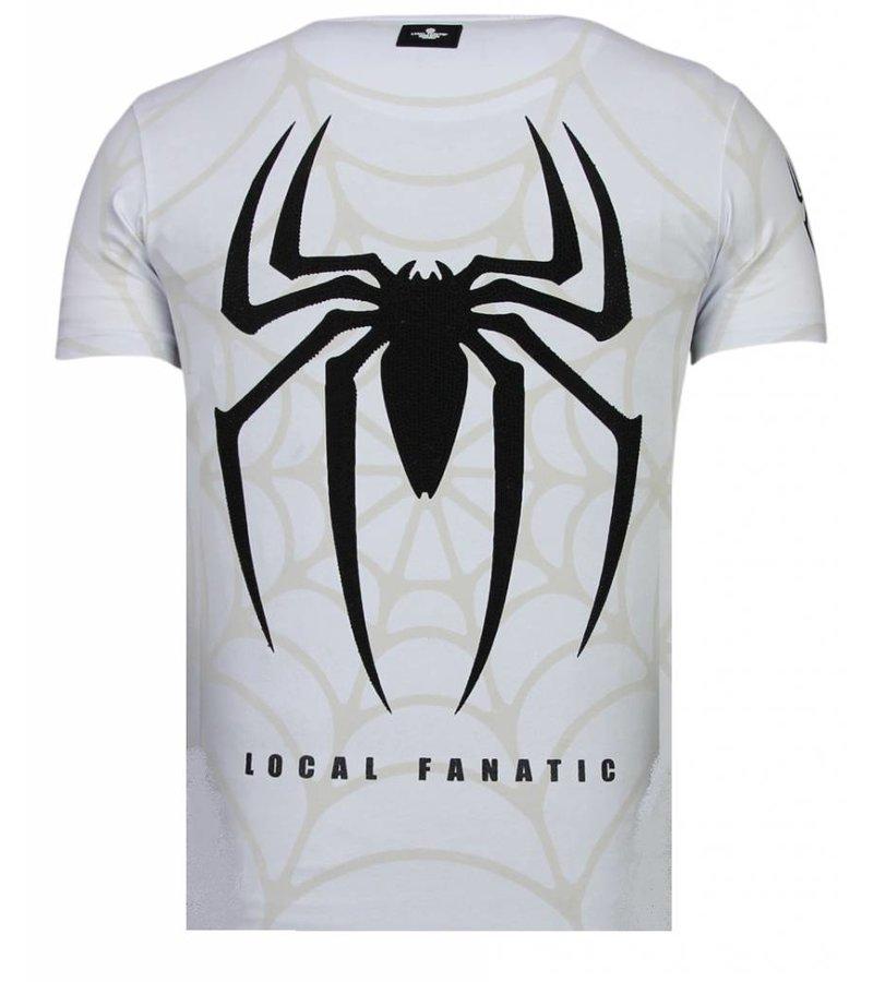 Local Fanatic The Beast Spider Man - Man T Shirt - 13-6228W - Vit