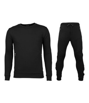 Enos Fitnesskläder herr - Snygga gymkläder man - PAK-7012Z - Svart
