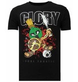Local Fanatic Glory Martial  Rhinestone - Herr T shirt - 13-6232Z - Svart
