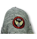 Local Fanatic T Shirt Patches  US Army - T shirt for men - LF-101/1G - Grön
