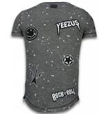 Local Fanatic  T Shirt Patches  Rockstar - Herr tröjor - LF-103/1Z - Svart