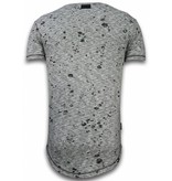 Local Fanatic Snygga tröjor för killar - Herr T shirt - LF-104/1G - Grå