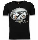 Mascherano Stewie Dog - Herr T shirt - 1458Z - Svart
