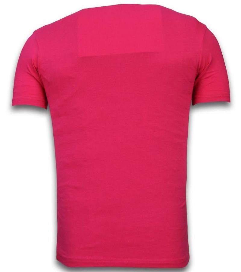 Mascherano Stewie Dog - Herr T shirt - 1458F - Fuschia