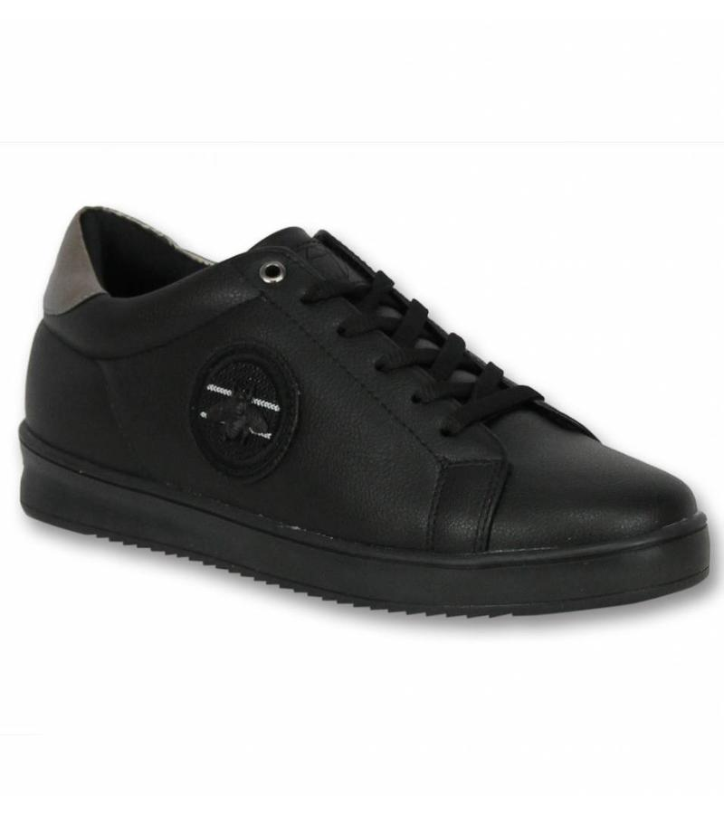 Cash Money Dressade Skor Herr - Man Sneakers Bee Black - CMS16 - Svart