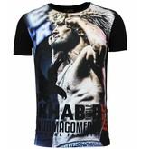 Local Fanatic The Eagle Nurmagomedov - Men's UFC Khabib T-shirt Heren - Zwart