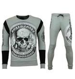 Golden Gate Sportkläder online billigt - Snygga myskläder herr - F-588G - Grå