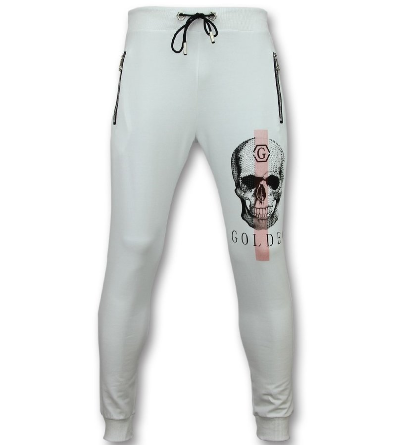 Golden Gate Köpa träningskläder online - Stora sportkläder - F-587W - Vit