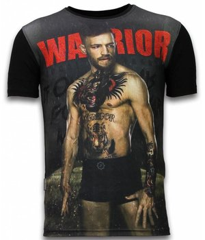 Local Fanatic McGregor Warrior Rhinestone - Herr t shirt - 11-6283Z - Svart