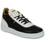 Cash Money Skor Herr Online - Män Sneaker Luxury Black White - CMS72 - Svart