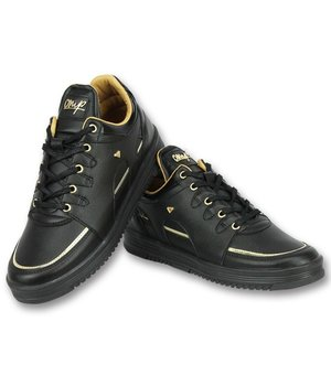 Cash Money Sneakers Heren Schoenen - Luxury Black - CMS71 - Zwart