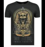 Local Fanatic Rebel Pharaoh - Exklusiv T-shirt Herr - 6322Z - Svart