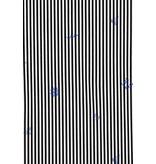 Gentile Bellini Italienska Blusmän - Skjorta Med Ränder - 3026 - Vit
