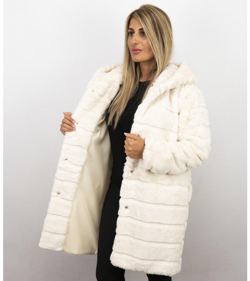 Köp Vita Pälsjackor för Damer billigt online | Trender 2020