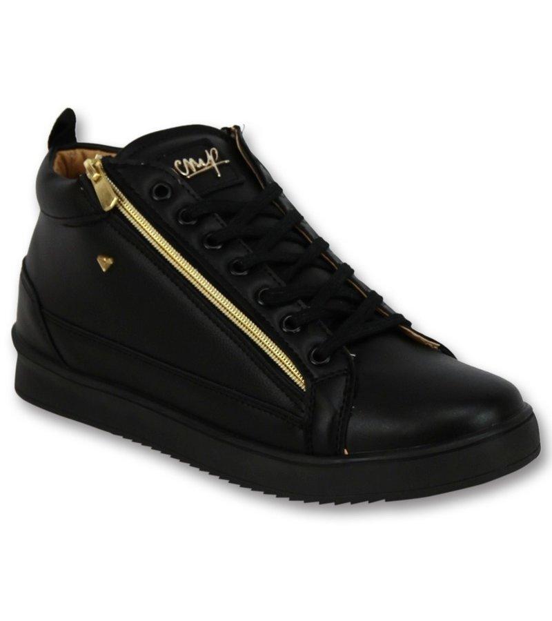 Cash Money Herr Sneaker - Bee Black Gold V2- CMS98 - Svart