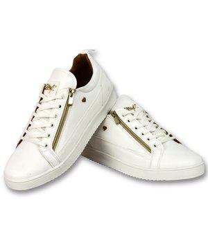 Cash Money Herrskor Sneaker - CMP White Gold - CMS97 - Vit