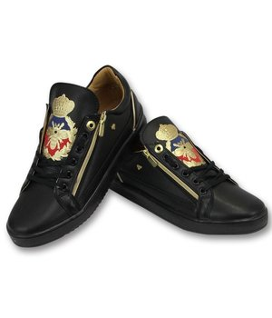 Cash Money Mens Skor - Full Black Prince - CMS97 - Svart