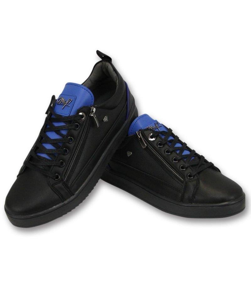 Cash Money Mens Trainers - Blå Maximus - CMS97 - svart / blå