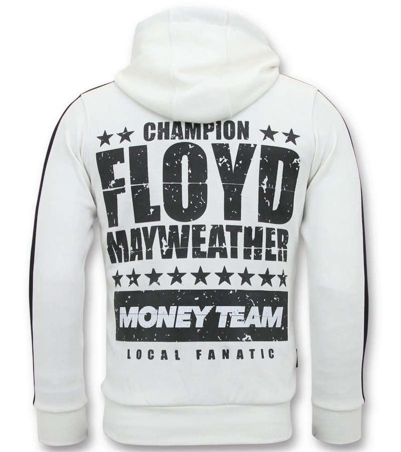 Local Fanatic Exklusiv Training Vest Män - TMT Floyd Mayweather - Vit
