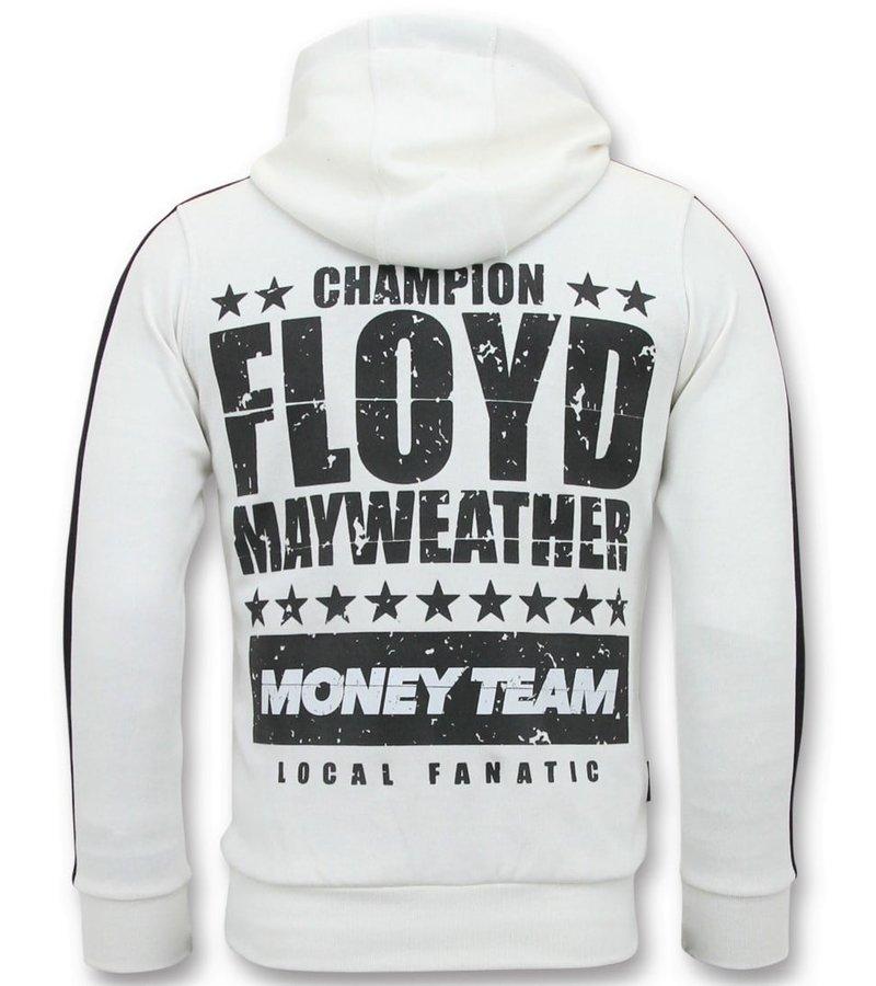 Local Fanatic Exklusiv tränings Män - TMT Floyd Mayweather set - vit