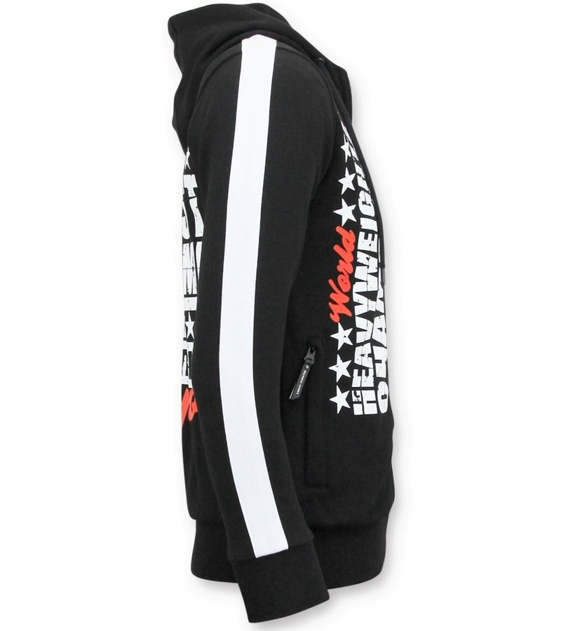 Local Fanatic Exklusiv Män jogging - Muhammad Ali Sport Kit - Svart