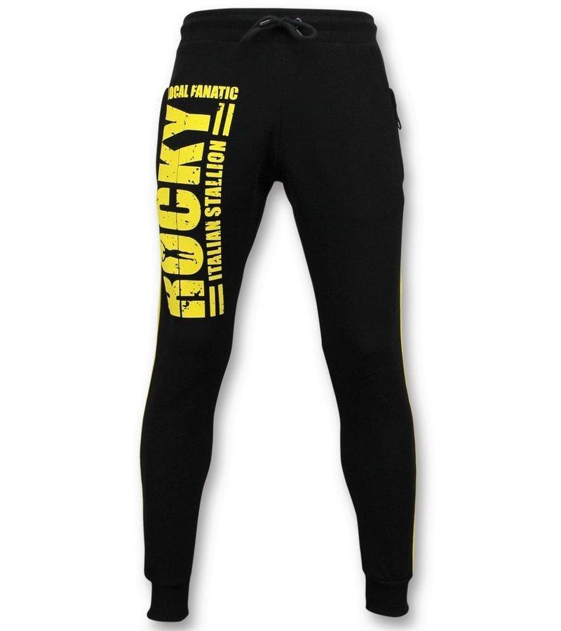 Local Fanatic Exklusiv Män s träningsoverall - Rocky Balboa Sports Pack - Svart