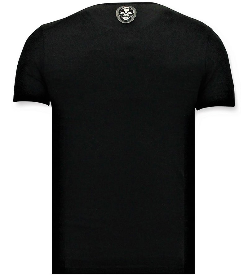 Local Fanatic T-shirt Män - UFC Championship Print - Svart