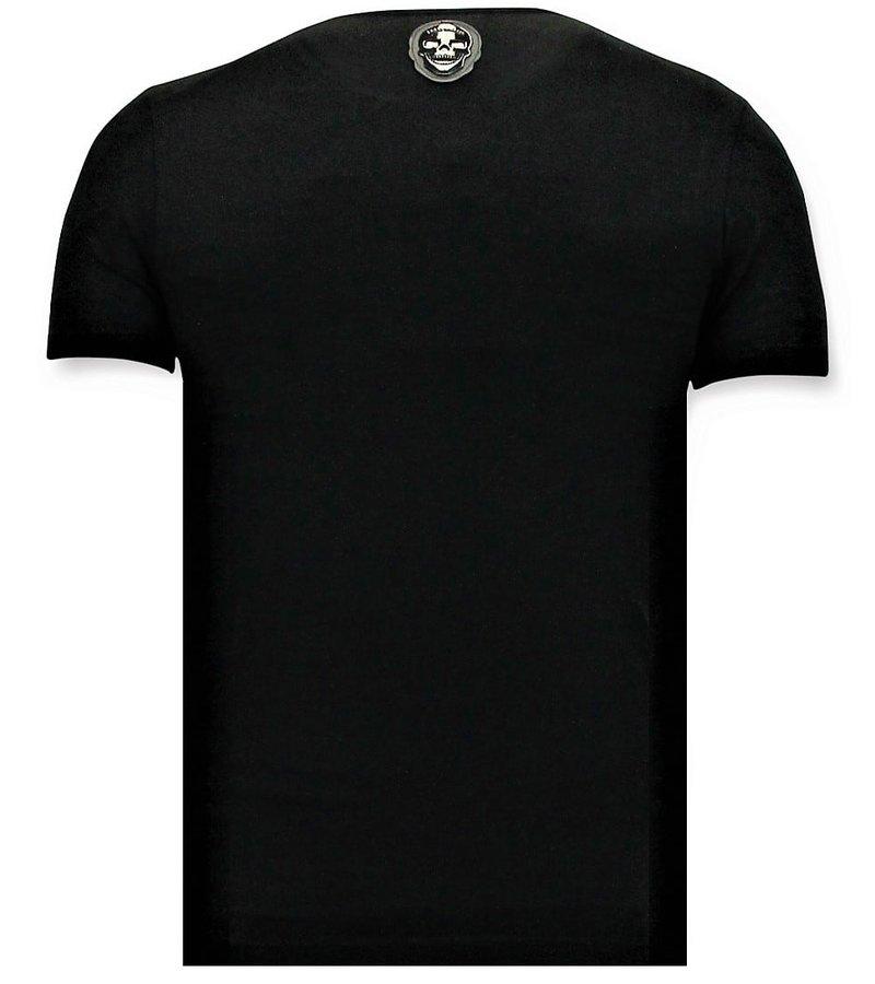 Local Fanatic Cool t-shirt Män - Narcos Pablo Escobar - Svart