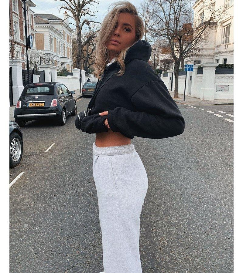 PARISIAN Stora Dragsko munkjacka - kvinnor - Svart