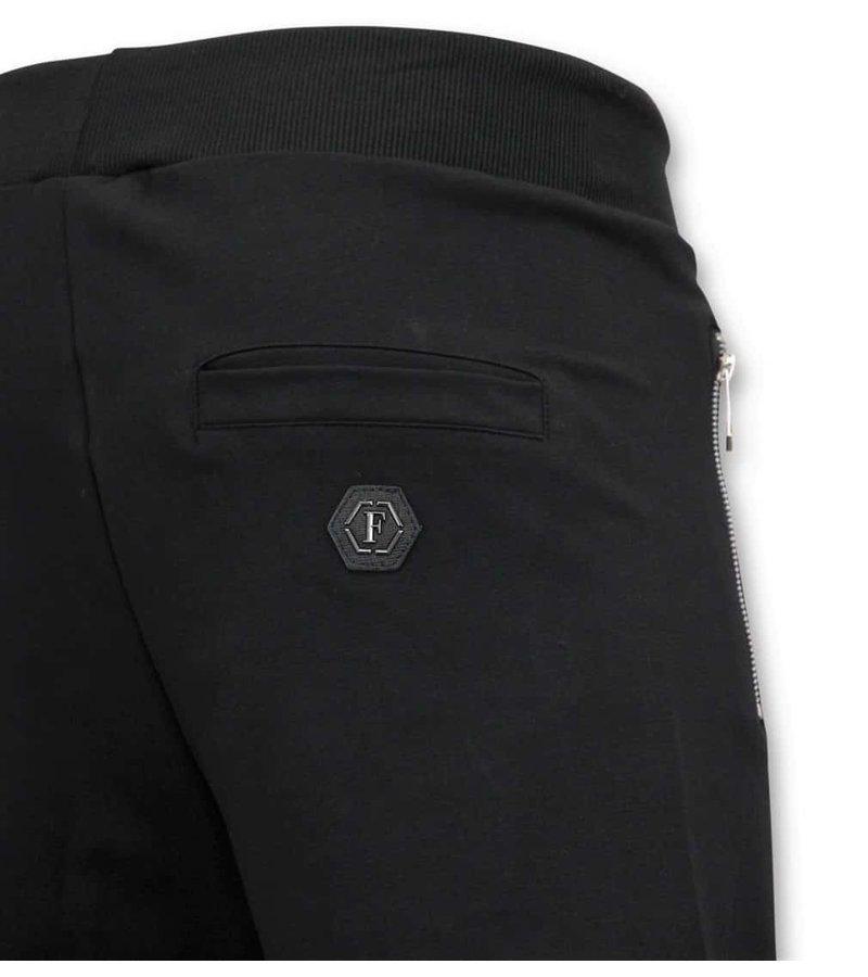 Enos Jogging Short Pants Herrar - Skull - 5357 - Svart