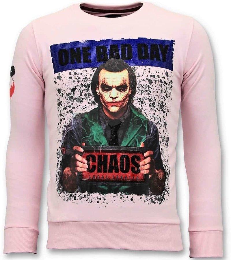 Local Fanatic Exklusiv Män - The Joker Man - 11-6373R - Rosa