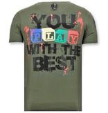 Local Fanatic Tuff Män T-shirt - Chucky Childs Play - 11-6365G - Grön