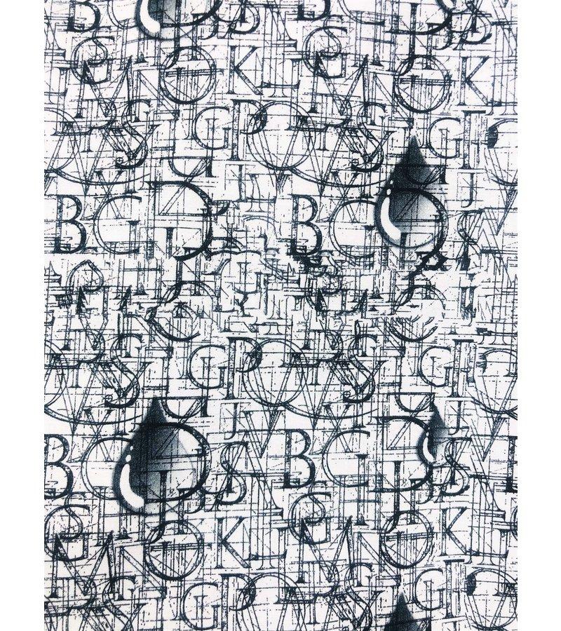 Tony Backer Lyx Sitt Män Free Shirts - Digital Printing - 3051 - Vit