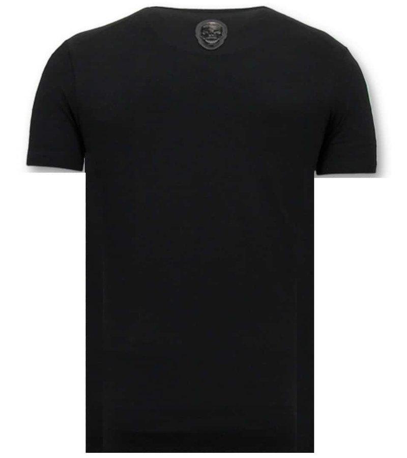 Local Fanatic Exklusiv T-shirt - Förstörd Playtoy - Svart