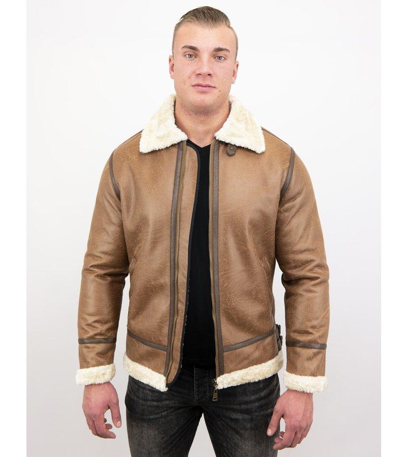 Tony Backer Lammy Coat - Shearling Jacket - Brun