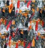 Tony Backer Exklusiva Skjortor Herr - Slim Fit - 3064 - Orange / Röd