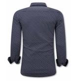 Tony Backer Skjortor För Män - 3077 - Blå